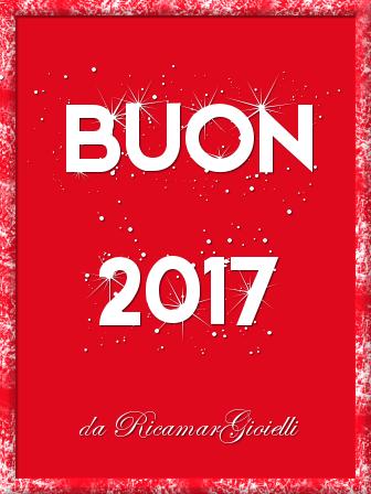 Buon 2017 da Ricamar Gioielli
