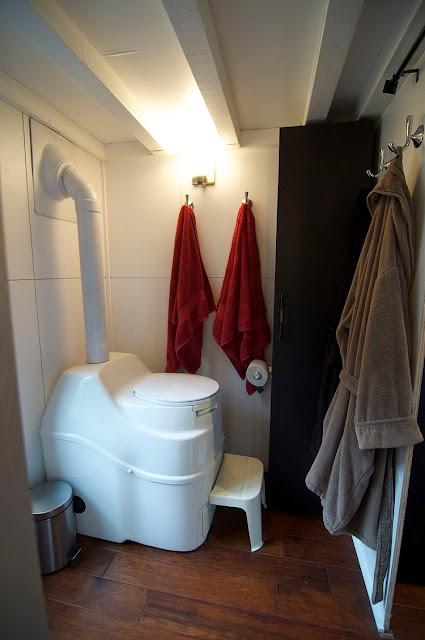 แบบห้องน้ำในบ้านรถ