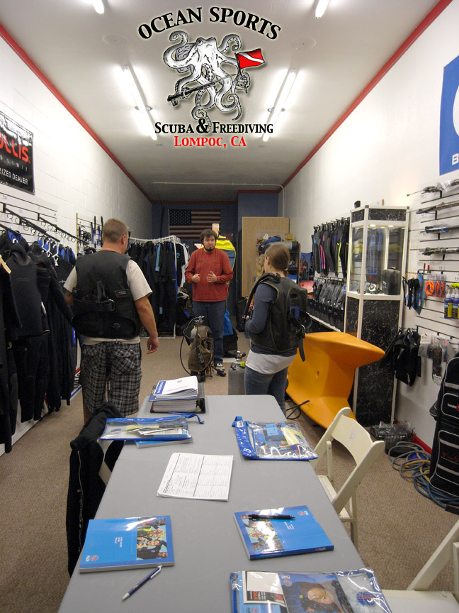 Ocean sports scuba freediving in lompoc ca full service for The dive shop
