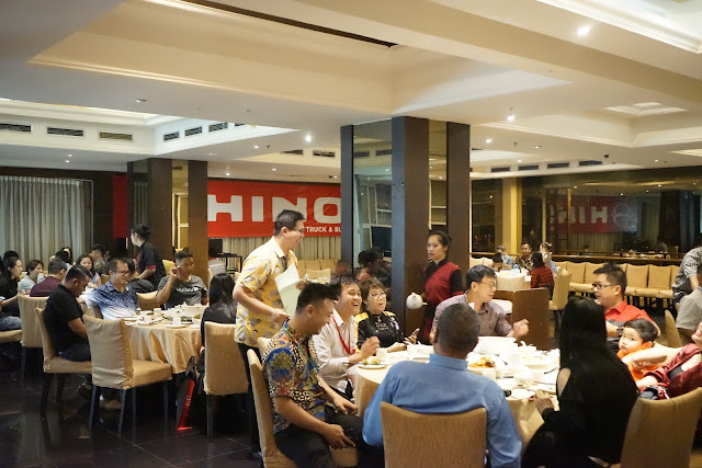 Hino Dutro Customer Gathering