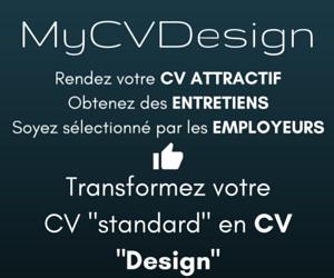 transformez votre cv standard en cv design