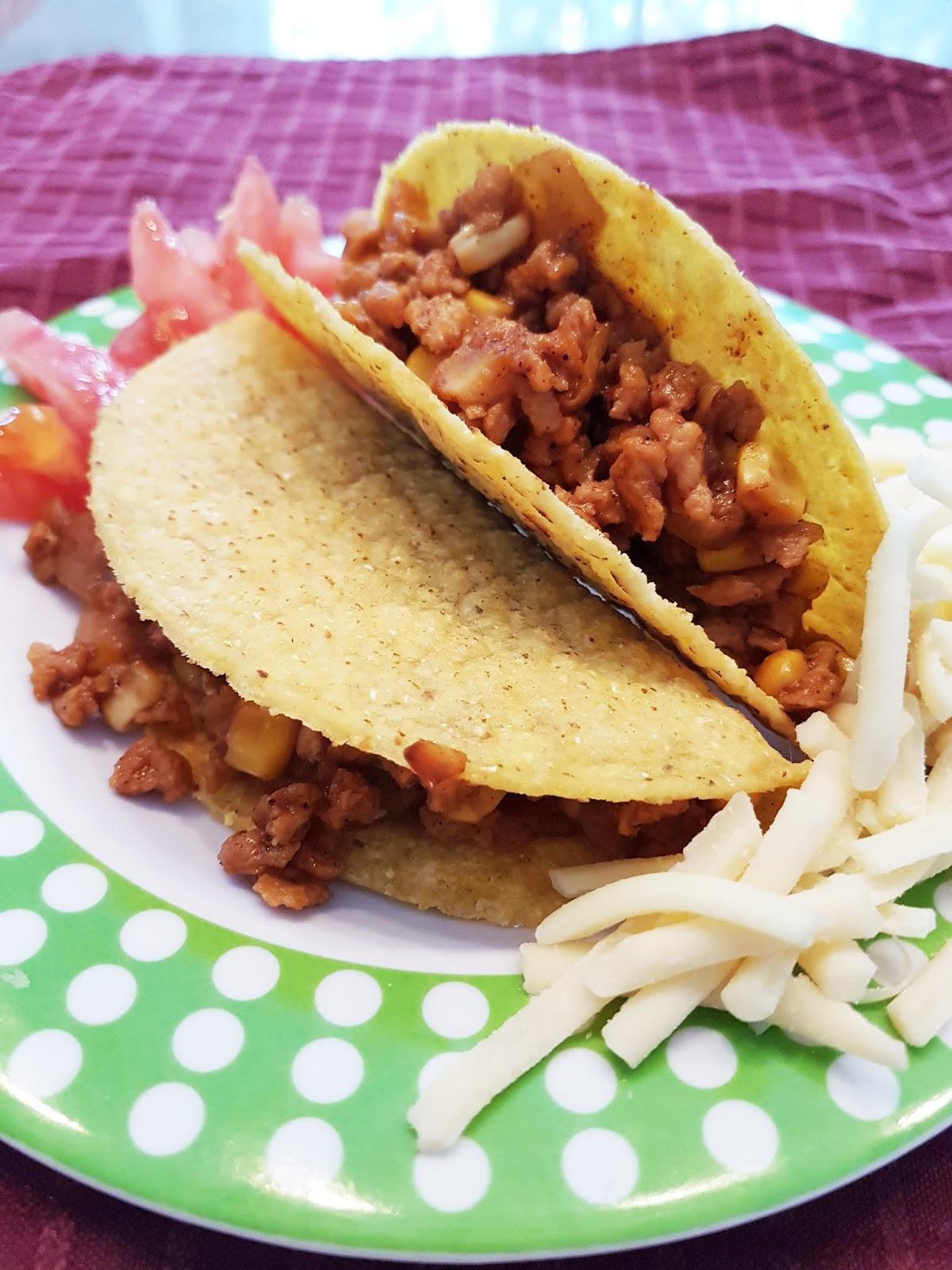 Lili popotte tacos de prot ine v g tale textur e pvt for Assaisonnement tacos maison