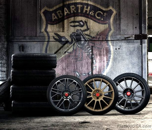 2017 Fiat 500 Abarth Wheels