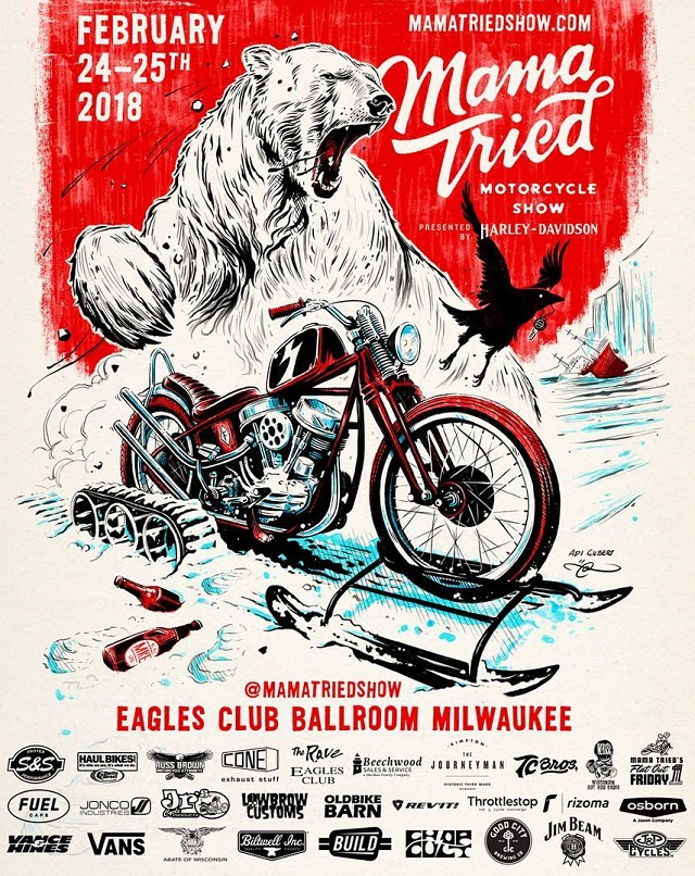 dWrenched - Kustom Kulture and Crazy Bikes: EVENT - MAMA