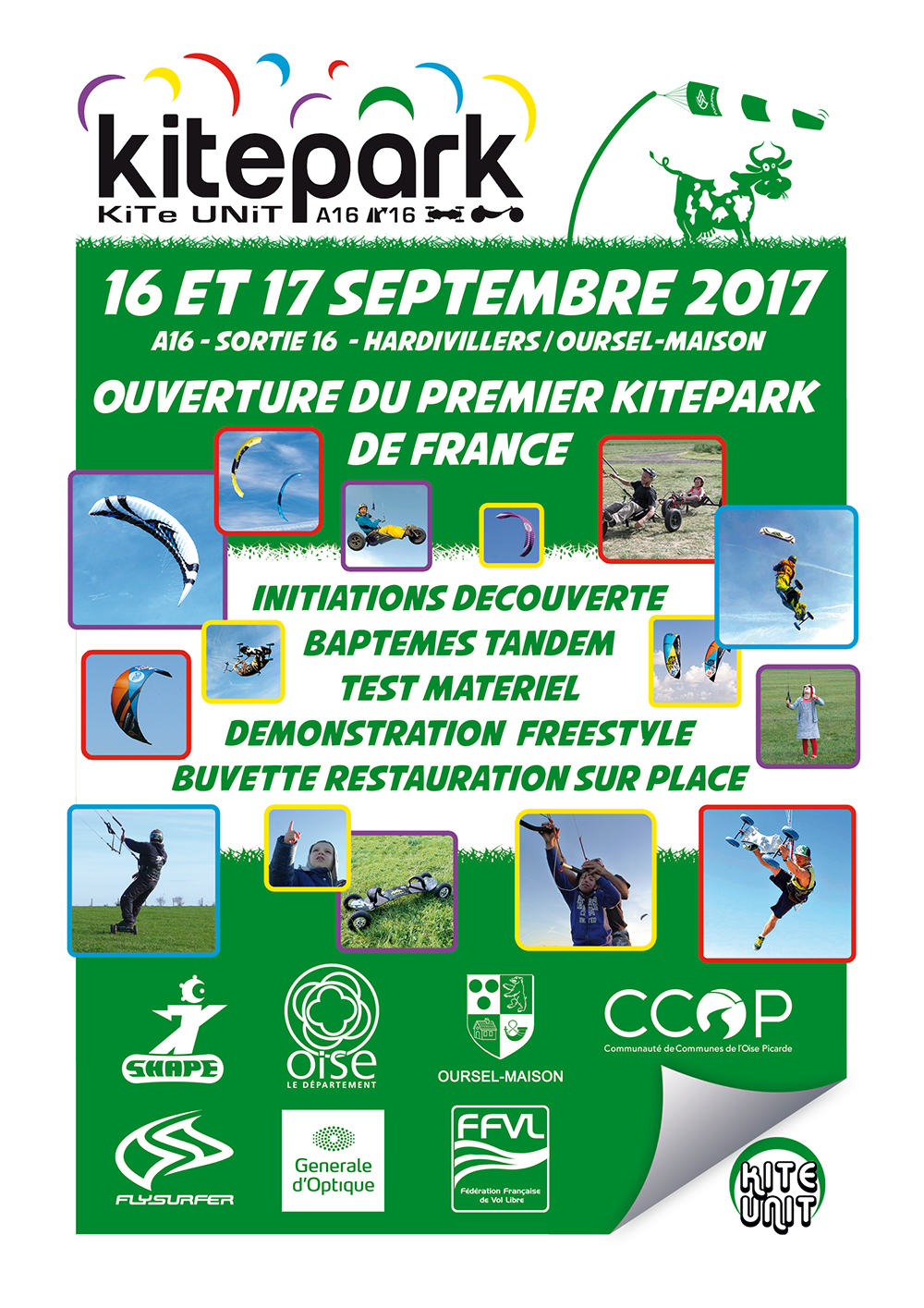 Ouverture du premier Kitepark de France Affichette-1000px-Grand-public