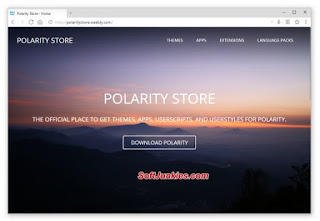 Web Browser! Polarity Browser Download Free for Your PC