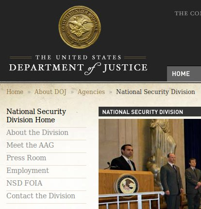 doj national security division