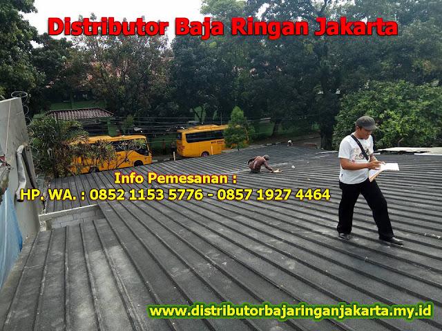 Distributor Baja Ringan Wilayah Jakarta Pusat dan Sekitarnya