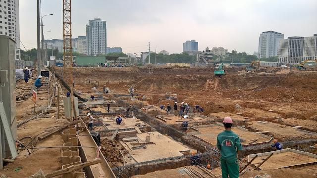 tiến độ thi công dự án An bình city 6/5/2016