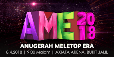 Live Streaming Anugerah MeleTOP Era 2018 Online