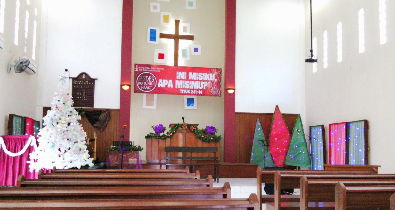 Dekorasi Natal Sederhana Untuk Gereja Dunia Otomotif 2019