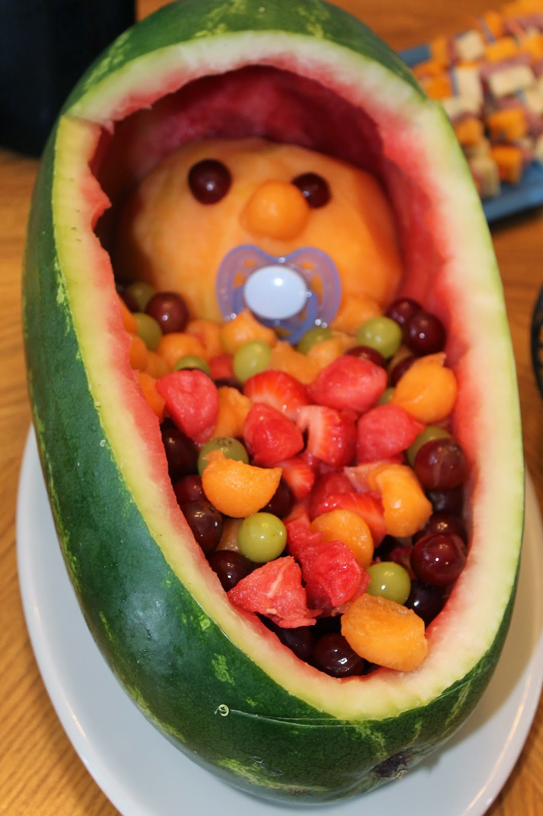 how to make a baby out of fruit, fruit salad