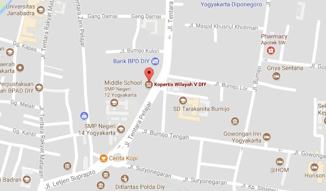 lokasi kampus swasta di Yogyakarta