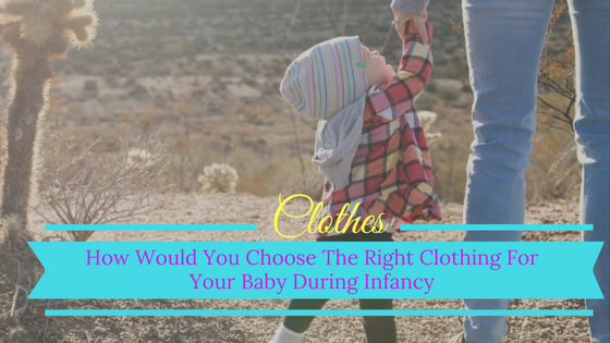 choosing babie's clothes