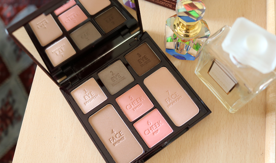 Charlotte Tilbury Instant Look In A Palette in Seductive Beauty - Review & Swatches