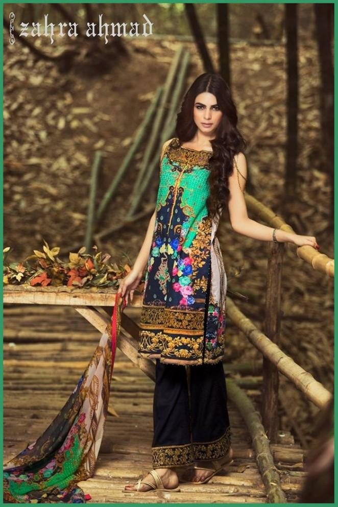 Zahra ahmad dresses 2018 summer