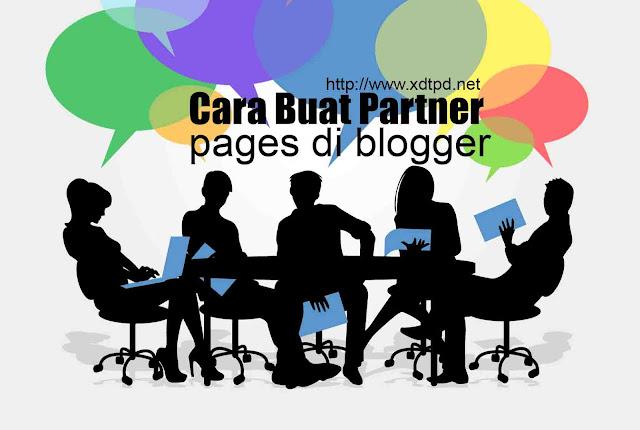 Cara Buat Partner Pages Otomatis di Blogger