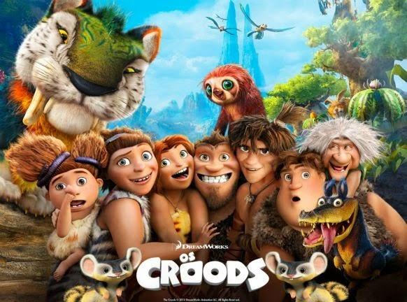 Os Croods (Foto: Divulgação)