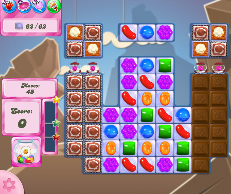 Candy Crush Saga level 2628