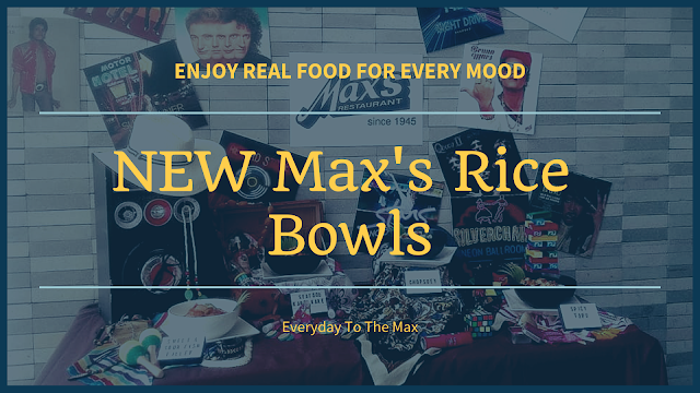 The New Max's Rice Bowl To Boost Your Mood! #EveryDayToTheMax #EnjoyRealFoodForEveryMood