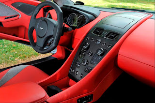 Aston Martin Vanquish Interior Entertainment