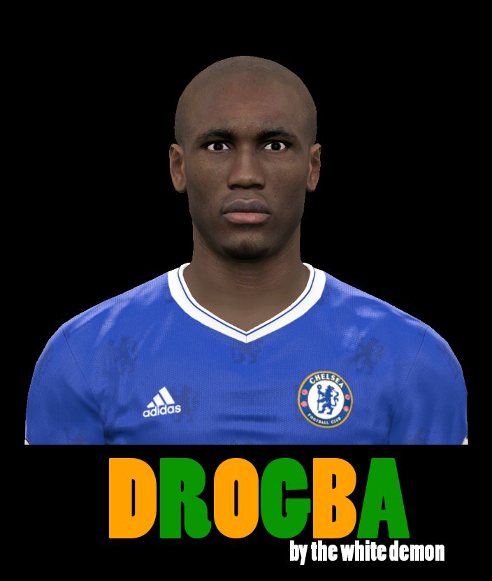 PES 2017 Drogba face By The White Demon