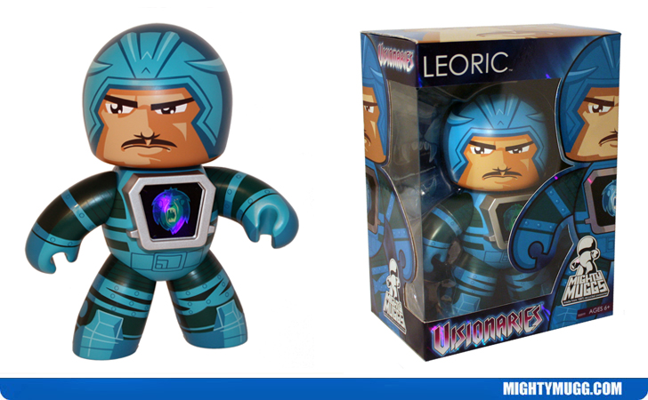 Leoric Visionaries Knights of the Magical Light Mighty Muggs Exclusive