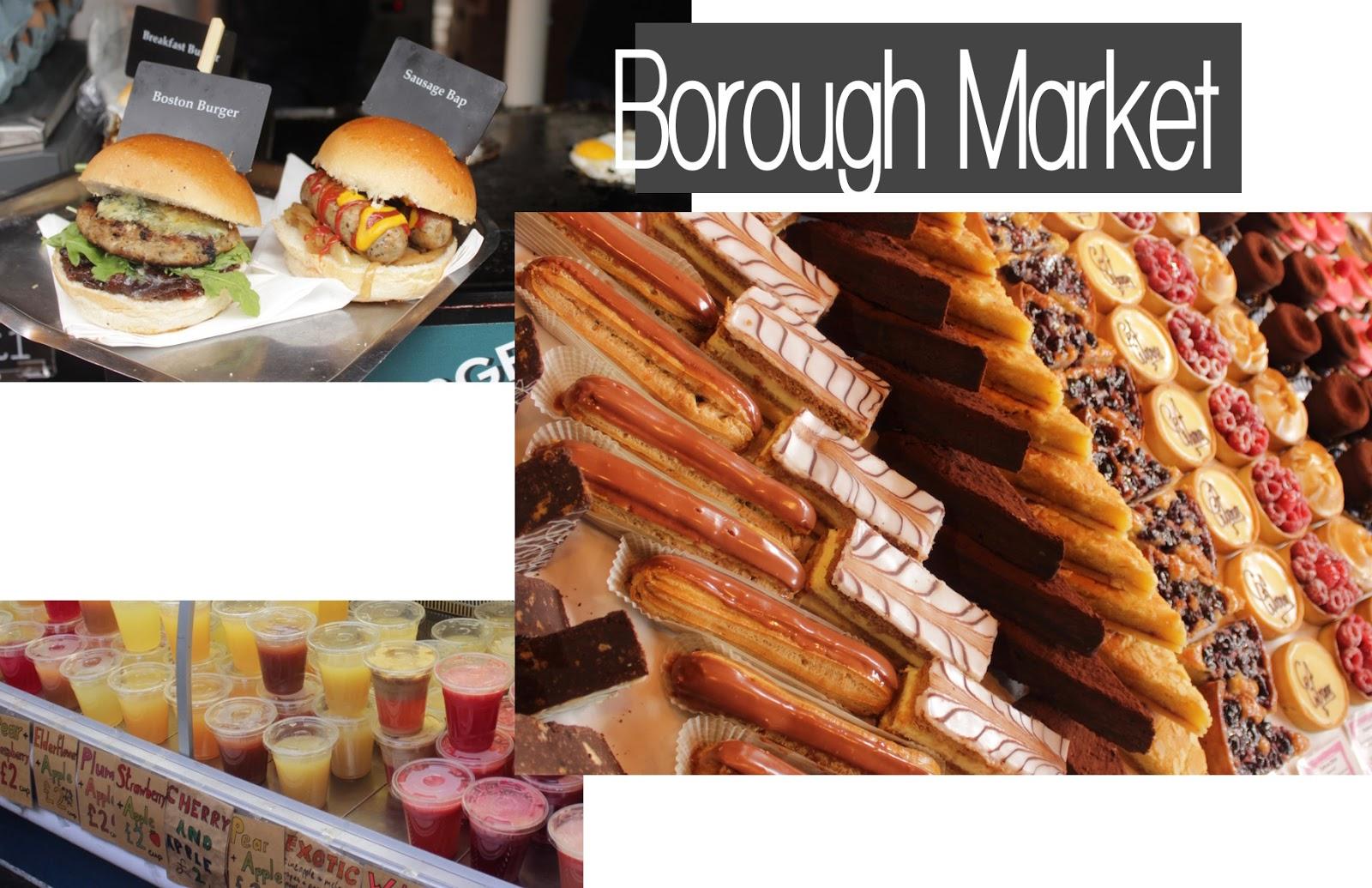 Food Restaurants London Travel Guide Borough Market
