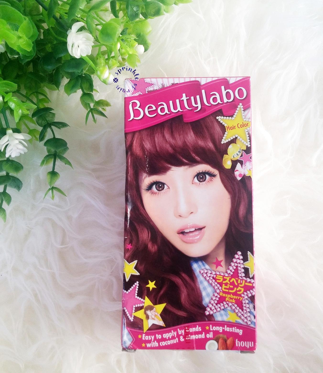 Review Beautylabo Hair Color Tampil Cantik Sisir Cat Semir Rambut Semua Packagingnya Dari Karton Gitu Terus Ada Gambar Cewe Jepang Dengan Warna Sesuai Rambutnya Nah Kebetulan Yang Aku Pilih