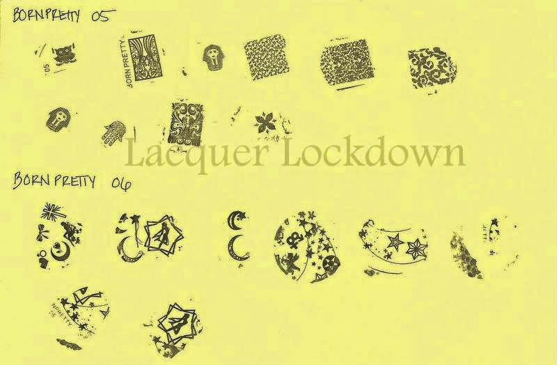 Lacquer Lockdown - Born Pretty Store Nail Art Stamping Plates, born pretty store, born pretty store stamping plates, born pretty store plates, BP vs BornPretty comparision, nail art stamping plates, nail art stamping blog, born pretty store plates review, nail art stamping, plate swatches, review swatches, stamping polish comparisons, review, born pretty store plate etching, plate etching, diy nail art, stamping plate review,