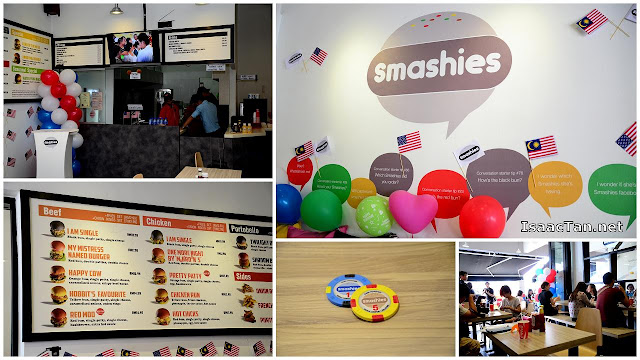 The rather colourful and comfortable ambiance of Smashies Burger