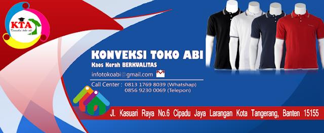 Jasa Pembuatan Kaos Kerah Tangerang