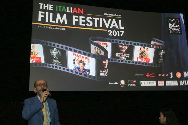 Majlis Pelancaran Festival Filem Itali 2017 di TGV 1Utama