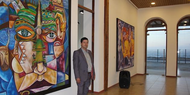 José Sau Salvatierra en Casa de la Cultura de Los Vilos