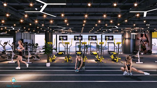Phòng tập Gym của dự án Time Square