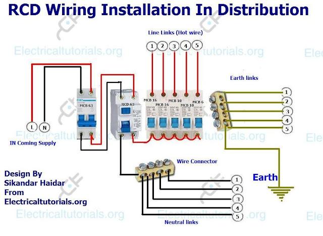 Rcd Wiring Diagram Installation - Nkpavegenerostore \u2022