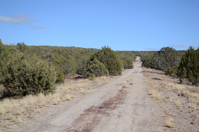 an abandoned segment of former US-66