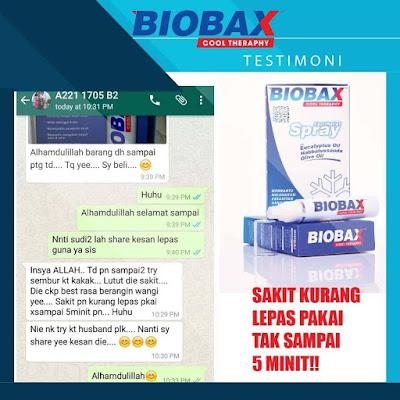 Biobax Cool Theraphy Untuk Kelegaan Sakit Segera