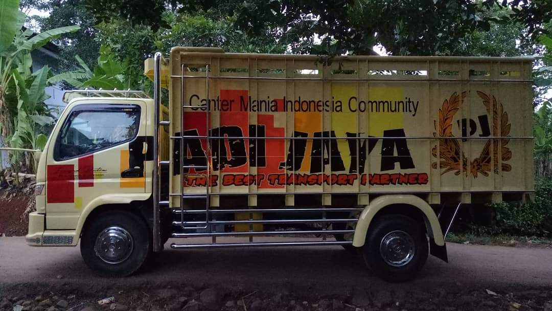 Modifikasi Armada Truk Canter Padi Jaya Group Jual Bak Truk