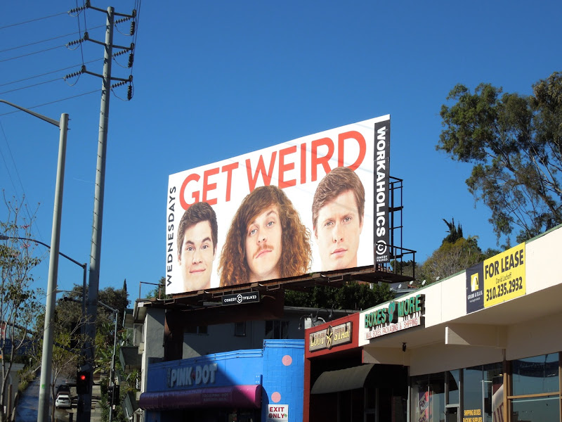 Workaholics midseason 3 Comedy Central billboard
