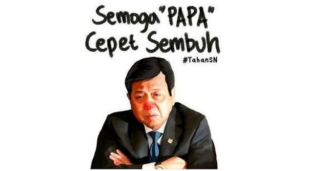 Meme Setya Novanto Terbaring Sakit 'Menyampah' di Internet, Respon Fadli Zon: Kurang Etis lah..