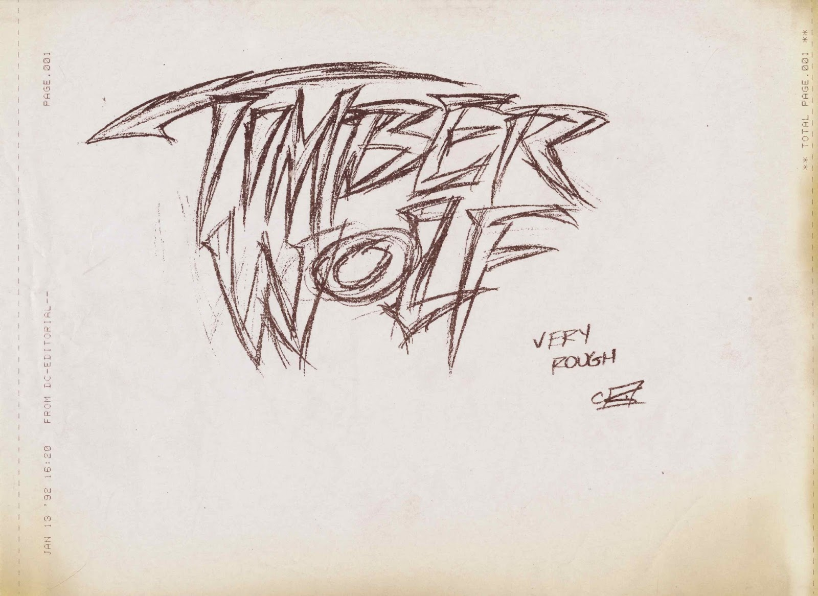 Tenth Letter Of The Alphabet Anatomy Of A Logo Timber Wolf