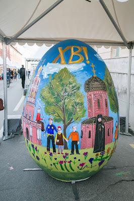 Краска Beckers на яйцах