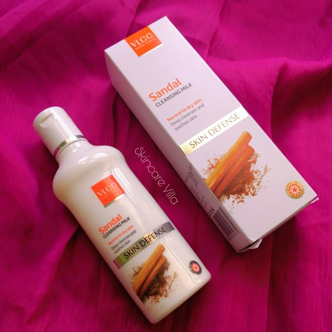 VLCC Sandal Cleansing Milk Review, Price, Availability