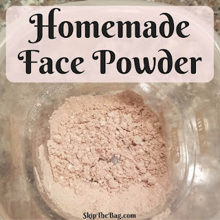 Homemade face powder tutorial |SkipTheBag