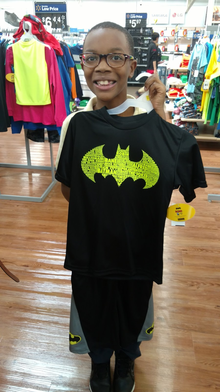 Decking My Son Out In Clothes For Batman V Superman
