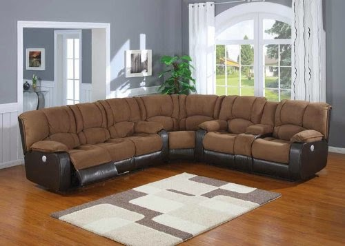 3pc Traditional Modern Electric Recliner Sofas Dfs