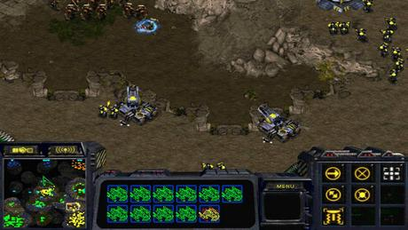 StarCraft PC GamePlay