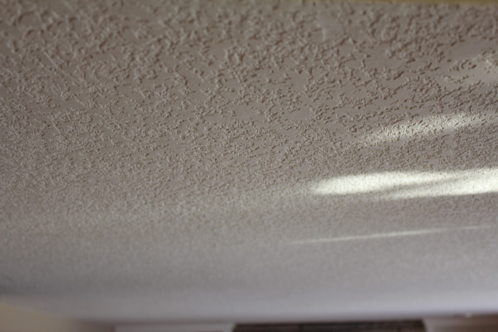 Ceiling Texture Removal. D I Y Popcorn Ceiling Removal