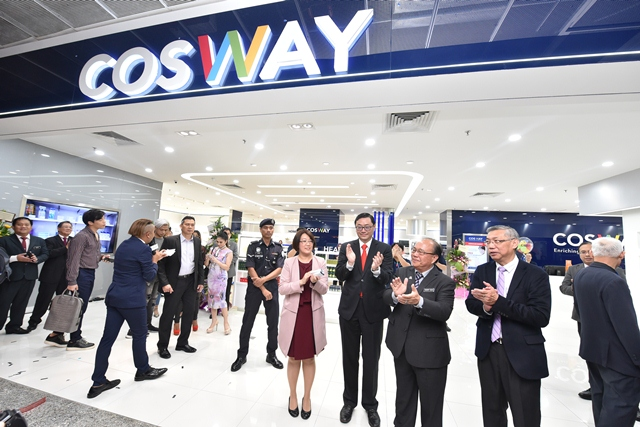 Cosway First Experience Centre in Berjaya Times Square